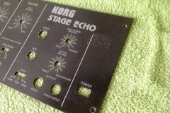 Repair Korg Stage Echo SE-300 Vintage Analog Tape Delay