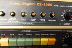 Repair Roland CR 8000 Vintage Analog Drum Computer Compurhythm