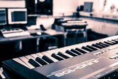 Roland Juno 106 @ Jürgen Driessen Studio