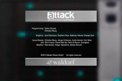 Waldorf Attack IOS 2015 (Beta Tester) @ Jürgen Driessen Studio