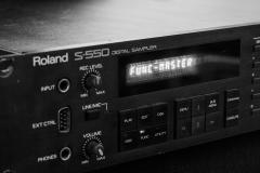 Roland S550 12Bit Sampler @ Jürgen Driessen Studio