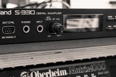 Roland S330 12Bit Sampler @ Jürgen Driessen Studio