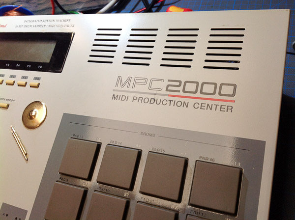 Repair Akai MPC 2000 MIDI-Production-Center