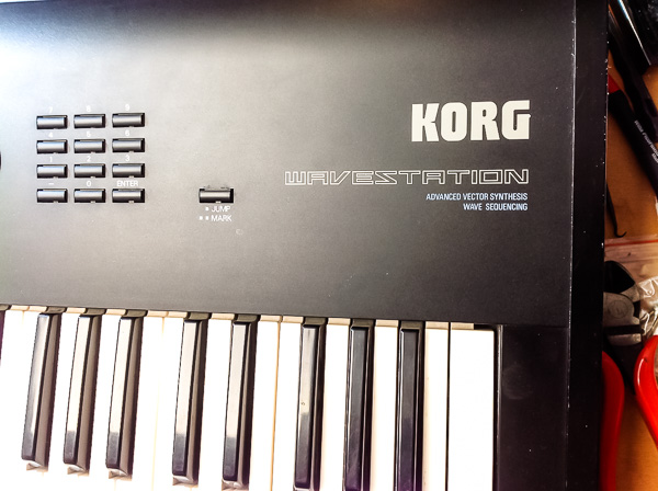 Repair Korg Wavestation Synthesizer