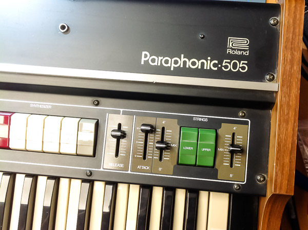 Repair Roland RS-505 Paraphonic Vintage Analog Synthesizer