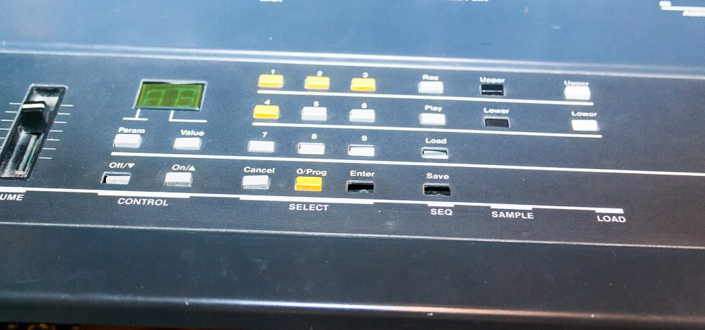 Repair-Ensoniq-Mirage-8Bit-Sampler