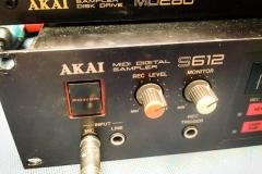 Repair Akai S612 Sampler & MD280 Quickdisk Drive Reparatur Service