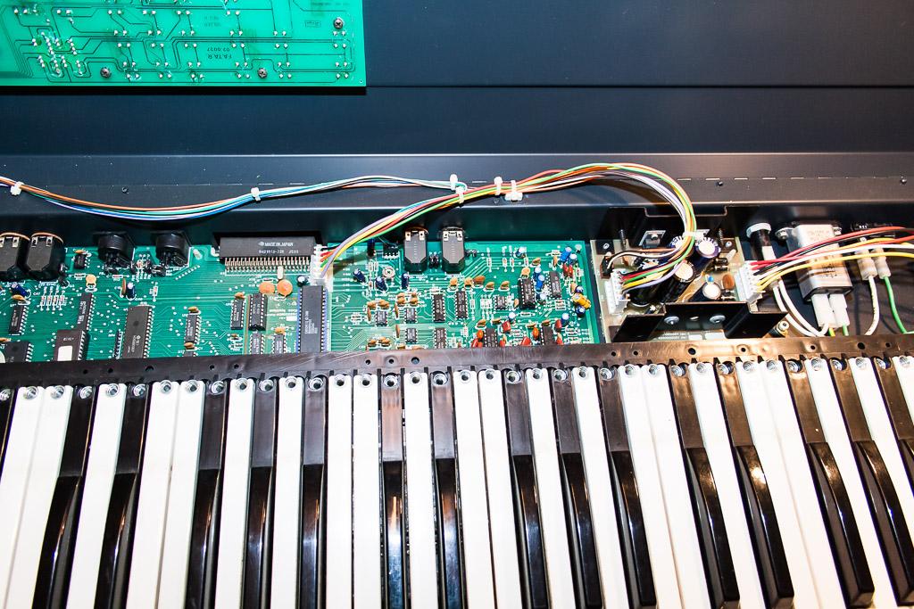 Repair Ensoniq Mirage 8Bit Sampler - Driessen Music