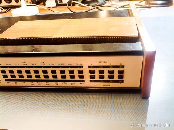 Repair Hohner Rhythm 80 Analog Drumcomputer Reparatur
