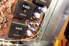 Repair Korg 800DV Duophonic Analog Synthesizer 1975