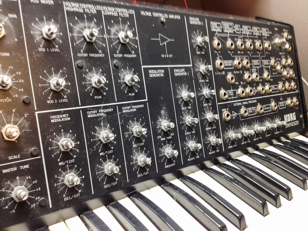 Repair Korg MS20 (Robert Babicz) Analog Synthesizer