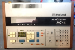 Repair Roland MC-4 Microcomposer Reparatur