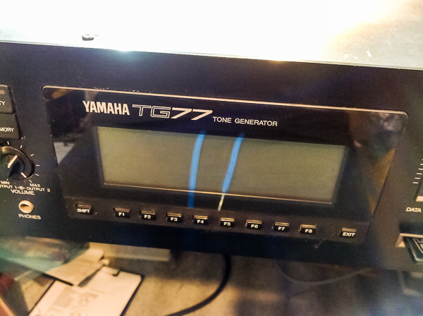 Repair Yamaha TG-77 Vintage Synthesizer