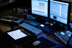 Logic Audio / Ableton / TB303 and more... @ Jürgen Driessen Studio