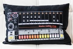 My TR808 Rhythm Cushion @ Jürgen Driessen Studio