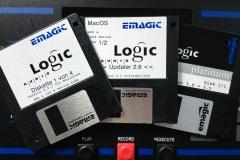 Emagic Logic Update 2.6 @ Jürgen Driessen Studio