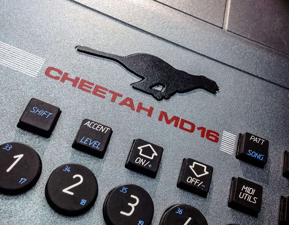 Repair Cheetah MD16 Drum Machine