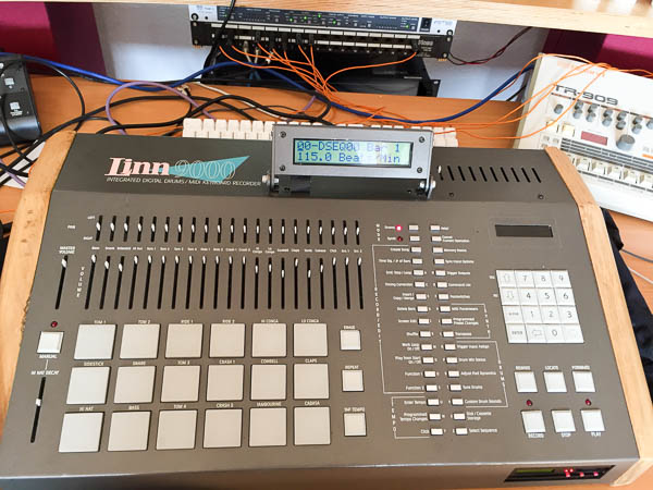Repair LINN 9000 Vintage Drum Computer Drum Machine