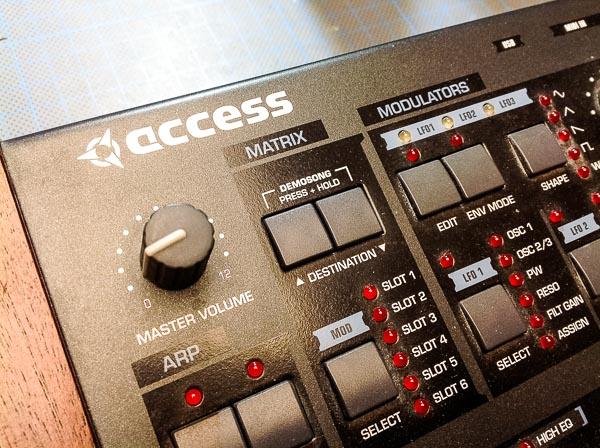 Repair Access Virus TI Desktop Synthesizer