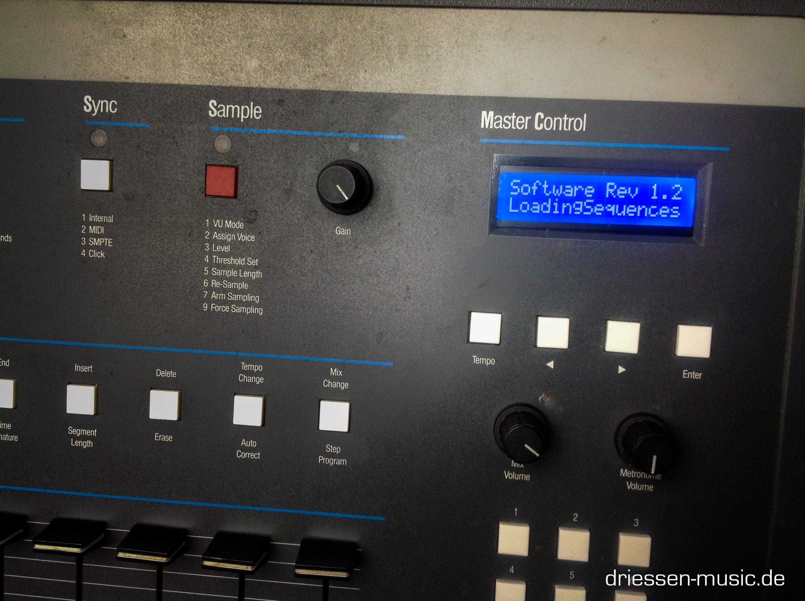 Repair EMU SP1200 Vintage Drum Computer Reparatur Service