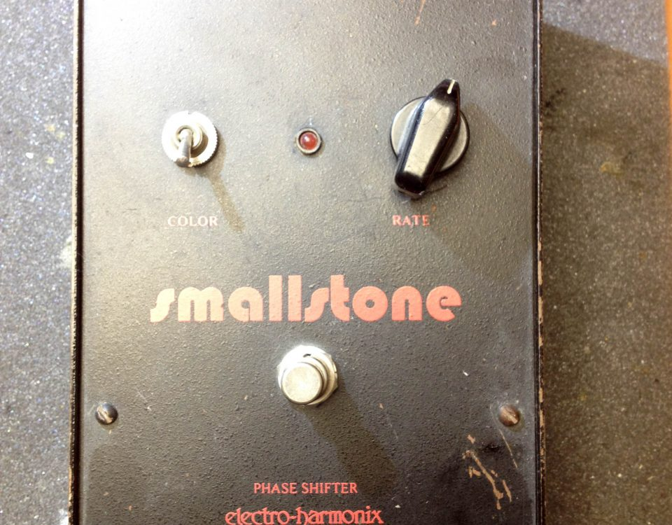 Repair Electro Harmonix Small Stone Phaser Stomp Box