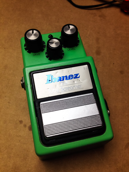 Repair Ibanez Tube Screamer