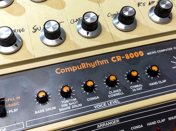Repair Roland CR 8000 Vintage Analog Drum Computer