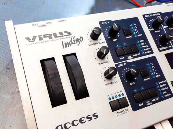 Repair Access Virus Indigo Synthesizer