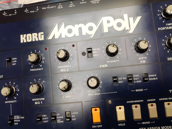 Repair Korg MonoPoly Vintage Analog Synthesizer