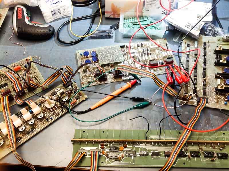 Repair Arp Pro-DGX Monophonic Analog Synthesizer