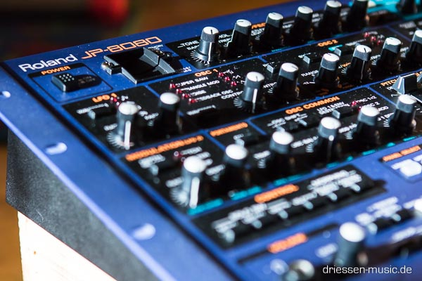 Repair Roland JP-8080 Synthesizer Reparatur