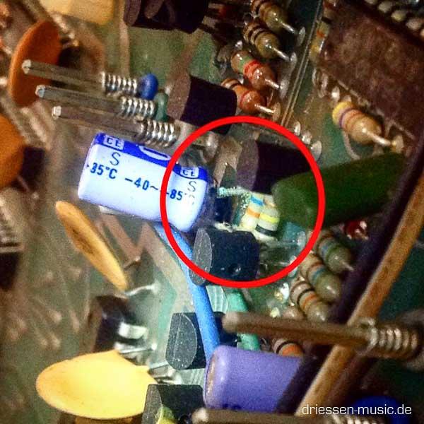 Repair Roland CR-78 Vintage Drum Machine CompuRhythm Reparatur