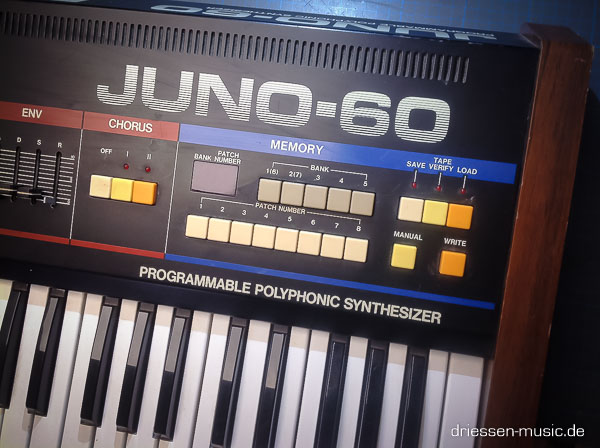 Repair Roland Juno 60 Vintage Analog Synthesizer