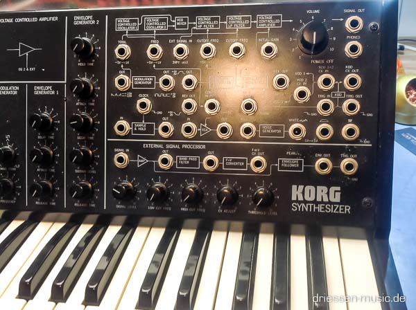 Repair Korg MS20 Vintage Analog Synthesizer Reparatur