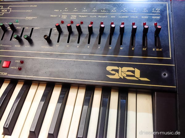 Repair Siel Mono Vintage Analog Synthesizer Reparatur
