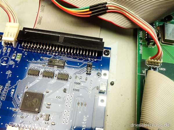 Repair Akai MPC 3000 Reparatur