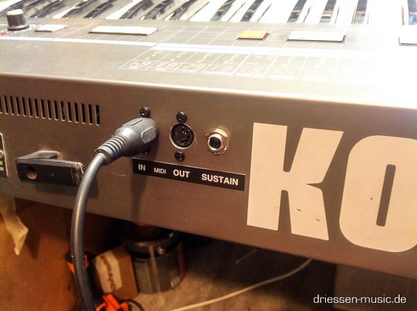 Repair Korg Poly 61 Vintage Analog Synthesizer Reparatur Service