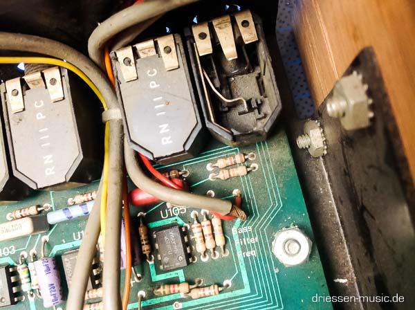 Repair LinnDrum Vintage Drum Computer Reparatur