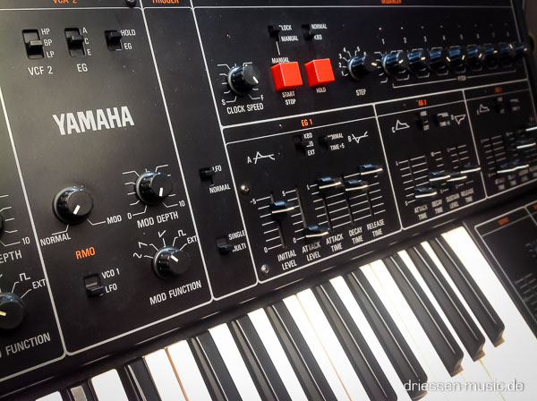 Repair Yamaha CS30 Vintage Analog Synthesizer Reparatur Service