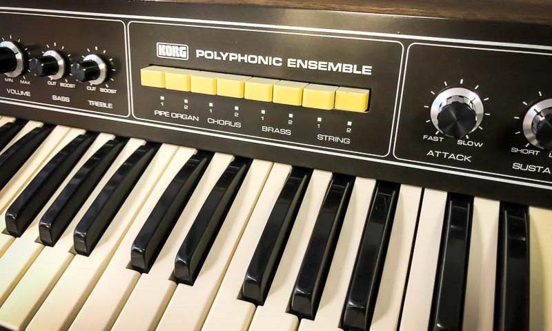 Repair Korg Polyphonic Ensemble 2000 Vintage Analog Synthesizer