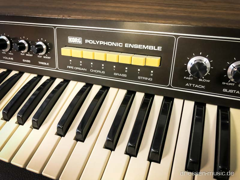 Repair Korg Polyphonic Ensemble 2000 Vintage Analog Synthesizer