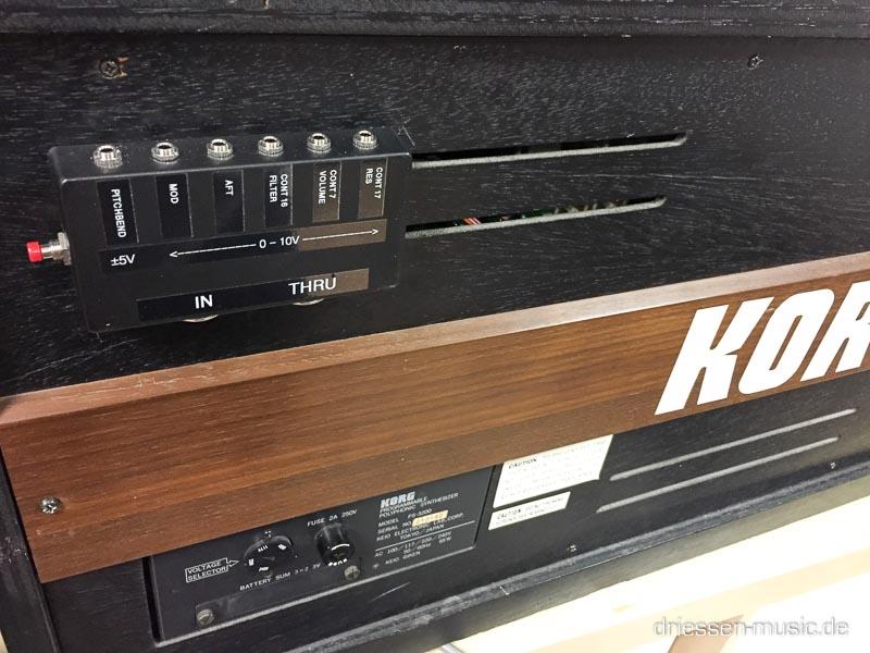 Korg PS3200 Kenton MIDI.