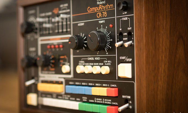 Repair Roland CR-78 Vintage Analog Drum Machine CompuRhyth Repar