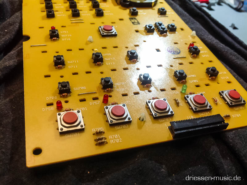 Microtaster in Synthesizern