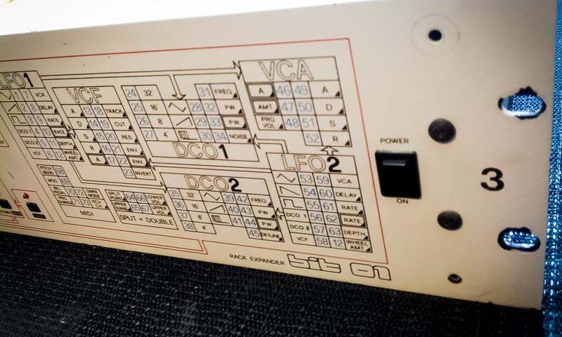 Repair Crumar Bit 01 Vintage Analog Synthesizer Reparatur Service