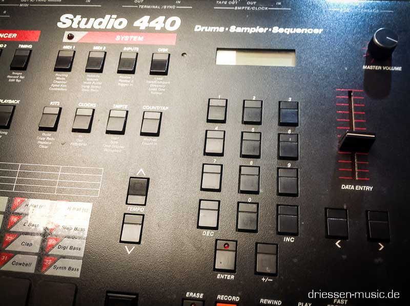 Repair Sequential Circuits Studio 440 Sequencing Sampling Drum M