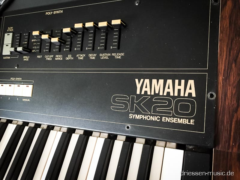 Repair Yamaha SK20 Symphonic Ensemble Synthesizer Reparatur Service