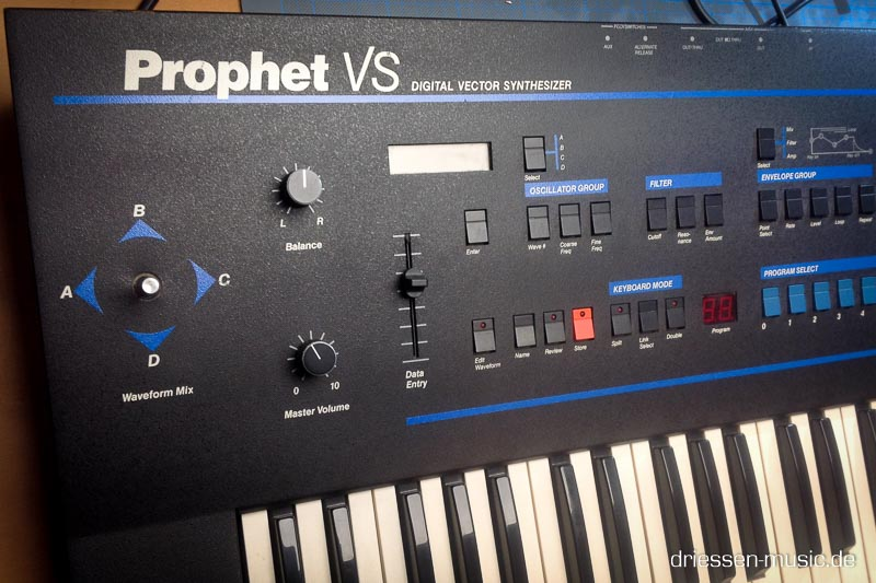 Prophet VS Vector Synthesizer Reparatur Service