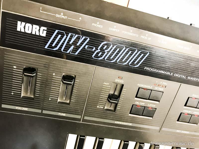 Repair Korg DW8000 Vintage Synthesizer Reparatur Service
