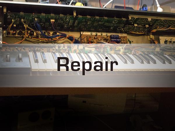 Synthesizer Reparatur Service Driessen